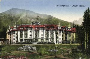 Novy Smokovec; Grand Hotel, Újtátrafüred, Neu-Schmecks, Novy Smokovec; Nagy szálló