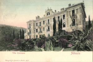 Abbazia, Villa Quisisana