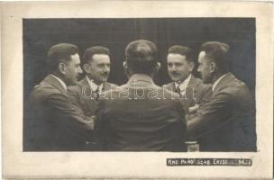 1913 Hauser A. Ping-Pang fényképészeti trükk szabadalma. Budapest, Erzsébet körút 33. / patent of a Hungarian photo trick