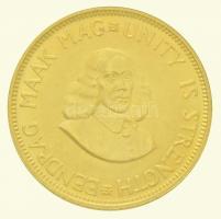 Dél-Afrika 1965. 2R Au (8g/0.917) T:1- /  South Africa 1965. 2 Rand Au (8g/0.917) C:AU Krause KM#64