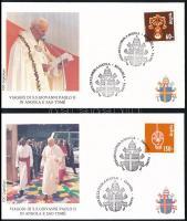 1992 Népművészet sor 4 db levélen, Folklore Mi 874-877