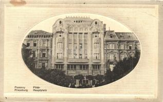 1913 Pozsony, Bratislava, Pressburg; Magyar Leszámítoló és Pénzváltó Bank. Kaufmann kiadása / Hungarian Discounter and Currency Exchange Bank (EB)