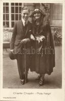 Charlie Chaplin, Pola Negri. Verlag Ross 453/2.