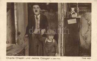 1924 Charlie Chaplin, Jackie Coogan (The kid). Verlag Ross 665/3. 1924 Budapest Árumintavásár So. Stpl