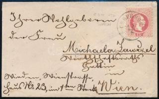 ~1869 5kr on cover