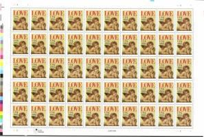 1996 Üdvözlő bélyeg kisív Mi 2690