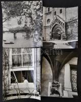 Reismann János (1905-1976) budapesti fotóművész hagyatékából, 6 db jelzés nélküli vintage fotóművészeti alkotás, (publikálva életrajzi albumában), a fényképek különböző időpontokban készültek, 30x40 cm és 21x18 cm között