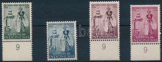 1956 Yogyakarta sor, Yogyakarta Mi 186-189