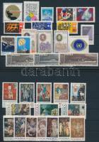 1970 6 sor, 7 bélyeg, 2 blokk, 6 set, 7 stamps, 2 blocks