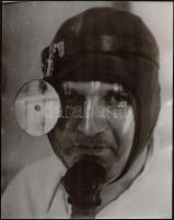 Krepuska Géza (1861-1949) orvos, egyetemi tanár, 3 db fotó, hátoldalon feliratozva, 28×21 és 30×24 cm