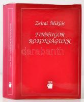 Zsirai Miklós: Finnugor rokonságunk. Bp., 1994, Trezor Kiadó. Kiadói kartonált papírkötés, kiadói papír védőborítóban, 3 térkép melléklettel.