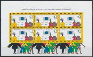 International Stamp Exhibition of the Youth, Düsseldorf block, Ifjúsági Nemzetközi Bélyegkiállítás, Düsseldorf blokk