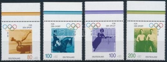Olympics margin set, Olimpia ívszéli sor