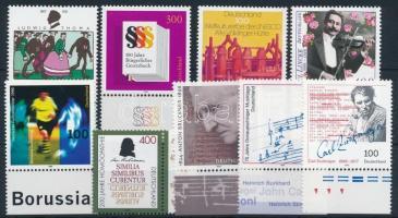 22 stamps, 22 bélyeg (teljes sorokkal)