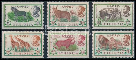 Mammal set (stain), Emlősök sor (rozsdafoltok)