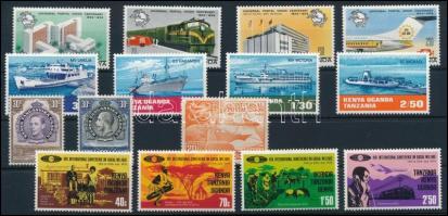 1935-1974 UPU, Ships, George V., 1935-1974 UPU, Hajók, V. György kis összeállítás