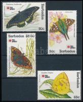 International Stamp Exhibition, Tokio Butterfly set, Nemzetközi bélyegkiállítás, Tokió, lepke sor