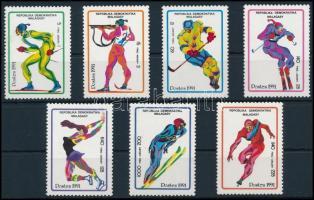 Winter Olympics, Albertville set, Téli Olimpia, Albertville sor