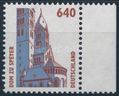 Building margin stamp, Látnivalók, épület ívszéli bélyeg