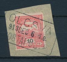 ,,(T)OLCSVA postaügynökségi bélyegzés
