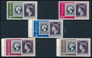 Centenary of the Luxembourg stamp set, 100 éves a luxemburgi bélyeg sor