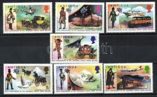 1974 100 éves az UPU Mi 323-329 + blokk 13