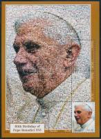 Pope Benedict XVI minisheet, XVI. Benedek pápa kisív