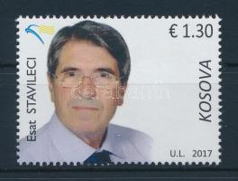 Esat Stavileci stamp, Esat Stavileci bélyeg