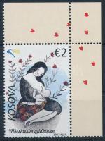 UNICEF corner stamp, UNICEF ívsarki bélyeg