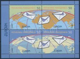 Letter minisheet, Levél kisív