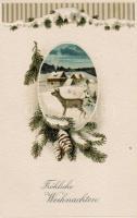 Christmas greeting card, Karácsonyi üdvözlőlap