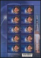 Space travel minisheet, Űrutazás kisív