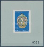 1968 Bélyegnap ajándék blokk (60.000) / Mi block 66 prestent of the post