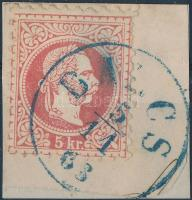 1867 5kr kék BA(R)CS (Gudlin 400 pont)