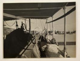 cca 1940 Danassy Károly (1904-1996) budapesti fotóművész hagyatékából jelzés nélküli vintage fotóművészeti alkotás, 23,5x29,5 cm