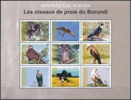 2009 Madár teljes ív, Bird sheet Mi 1917-1925