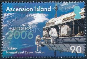 Space exploration stamp, Űrkutatás bélyeg