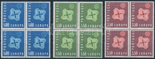 Europe CEPT set blocks of 4, Europa CEPT sor négyestömbökben