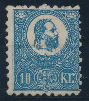 1871 Kőnyomat 10kr szép állapotban, eredeti gumival, falcos (300.000) / Mi 4 with original gum, hinged, good quality. Certificate: Visnyovszki