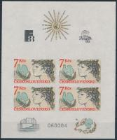 International stamp exhibitions: Helsinki, Prague block