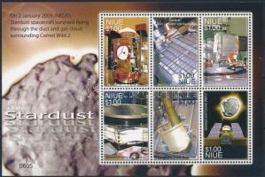 Space exploration mini sheet, Űrkutatás kisív