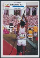 Summer Olympics: Barcelona block, Nyári Olimpia, Barcelona blokk