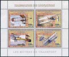 Congo-Airplane mini sheet, Kongó-Repülő kisív