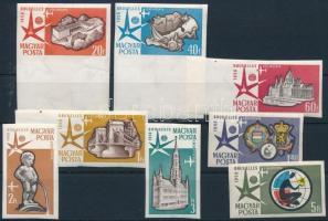 1958 Brüsszel Világkiállítás vágott sor (4.000)