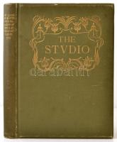 1903 The Studio an Illustrated Magazine- of Fine & Applied Art. XXIX. Volume, 312 p. Kiadói kissé kopott aranyozott egészvászon-kötés. Angol nyelvű, művészeti folyóirat, számos érdekes írással, egészoldalas fekete-fehér, és részben színes táblákkal, gazdag szövegközti képanyaggal illusztrálva. Közte James Abbott McNeill Whistler (1834-1903): Portrait Study in Pastel c. munkájának Thomas Robert Way (1861-1913) általi litografált reprodukciójával, 28x19 cm Jó állapotban.   /1903 The Studio an Illustrated Magazine- of Fine & Applied Art. XXIX. Volume, 312 p. With many interesting writings, and lot of photos. Linen-binding, with little bit worn cover.  With: James Abbott McNeill Whistler (1834-1903): Portrait Study in Pastel. Reproduced in Lithography by Thomas Robert Way (1861-1913), 28x19 cm. In English language. In good condition.