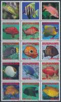 Fish block of 15, Hal 15ös tömb