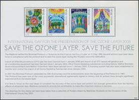 Protection of the ozone layer mini sheet, Ózonvédelem kisív