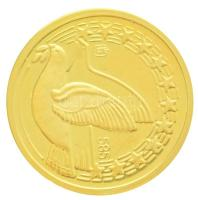 Németország 1998. 50 Euro - Deutschland Au emlékérem (1,56g/0.585/14mm) T:PP  Germany 1998. 50 Euro - Deutschland Au commemorative medallion (1,56g/0.585/14mm) C:PP