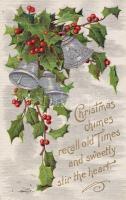 Christmas holly with bells, Karácsony magyal harangokkal