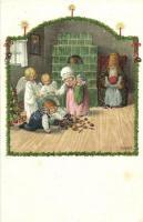 Christmas with the children; M. M. Nr. 1227. s: Pauli Ebner (EK)